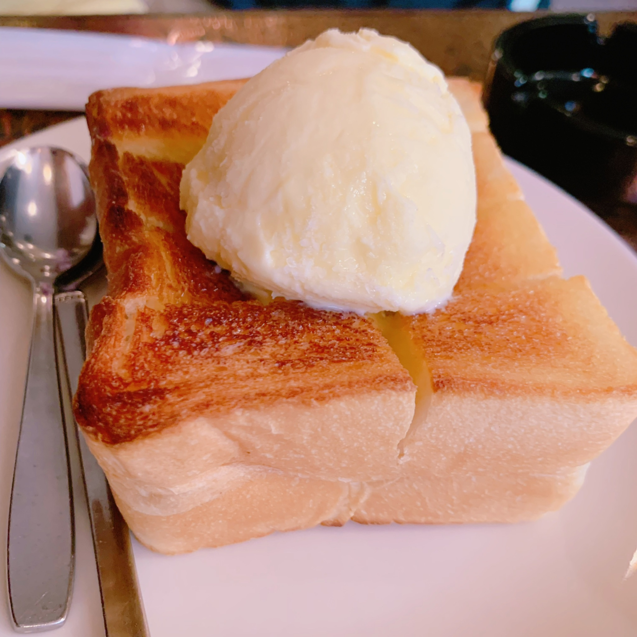 浅草ペリカンのパン使用♡オンリーの絶品ハニートースト