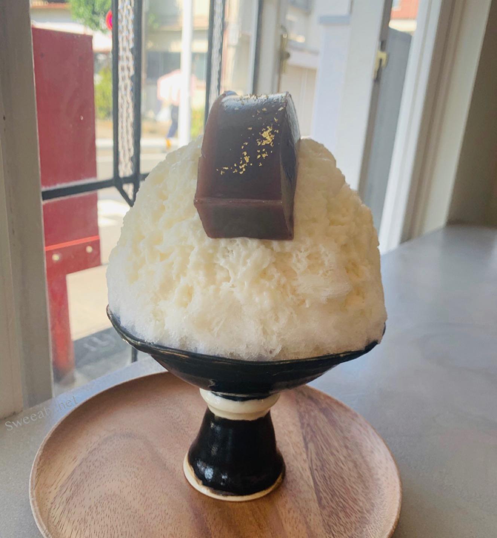 想像を超える美味しさ♡髷に見立てた水ようかん氷が映える喫茶ベレー