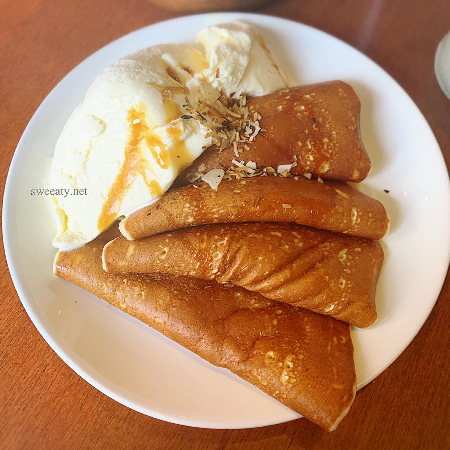 自由ヶ丘の超老舗パンケーキ専門店◇花きゃべつのパンケーキは唯一無二のもちもち食感♡