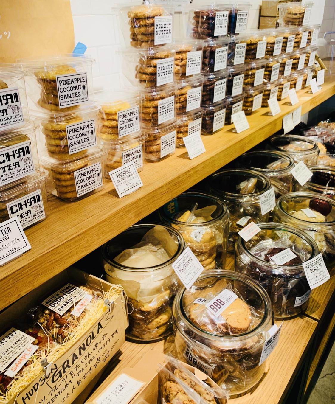 スタバとコラボで話題♡アメリカンな焼き菓子がいっぱい!ハドソンマーケットベイカーズ麻布十番